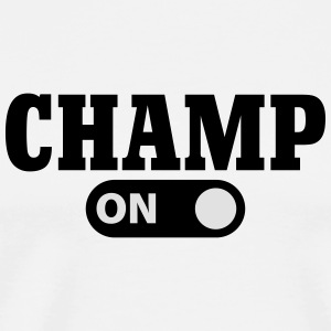 Champ on Tröjor - Premium-T-shirt herr