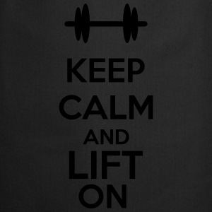 Keep Calm And Lift On T-paidat - Esiliina