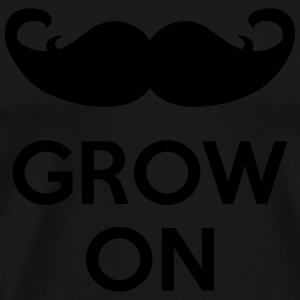 Grow On Delantales - Camiseta premium hombre