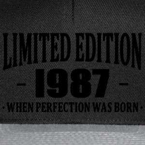 Limited Edition 1987 T-Shirts - Snapback Cap