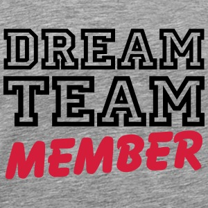 Dream Team Member Skjorter med lange armer - Premium T-skjorte for menn
