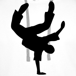 Breakdance Dancer Moves Music Dance T-Shirts - Men's Premium Hoodie