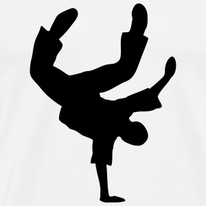 Breakdance break danse breakdancer danseur  Débardeurs - T-shirt Premium Homme