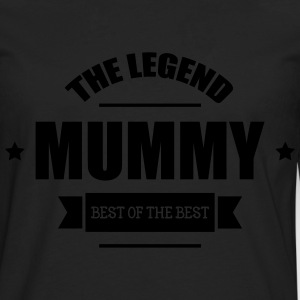 Mummy, The Legend ! Kookschorten - Mannen Premium shirt met lange mouwen