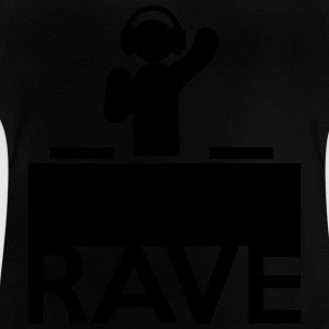 Rave On Skjorter - Baby-T-skjorte