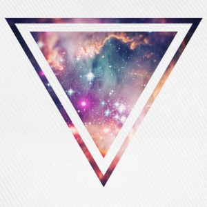 Galaxy - Space - Universe / Hipster Triangle Tee shirts - Casquette classique