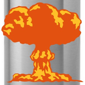 Atompilz Explosion T-Shirts - Trinkflasche