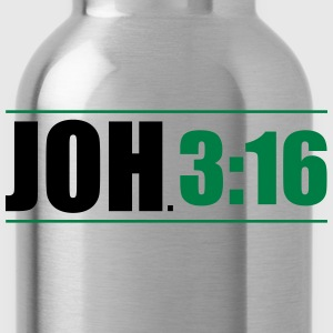 JOH. 3:16 T-Shirts - Trinkflasche