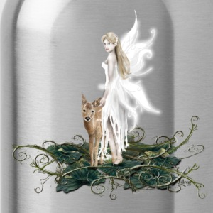 Heather grey Elf with Deer Tops - Water Bottle