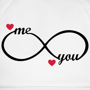 I love you My Boyfriend Girlfriend Me You forever  Hoodies & Sweatshirts - Baseball Cap