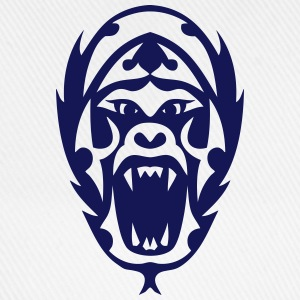 Tribal Tattoo Gorilla 1909 T-Shirts - Baseballkappe