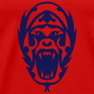 Tribal Tattoo Gorilla 1909 Tops - Männer Premium T-Shirt
