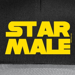 STAR MALE T-Shirts - Snapback Cap
