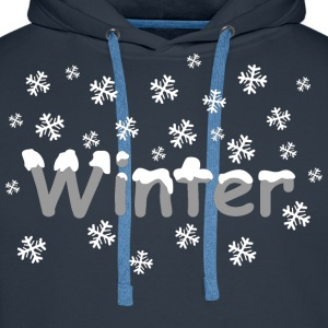 winter T-Shirts - Men's Premium Hoodie