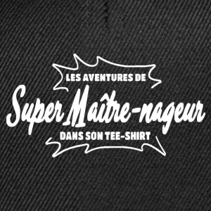 Maître Nageur Tee shirts - Casquette snapback