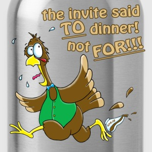 Turkey Dinner! Long Sleeve Shirts - Water Bottle