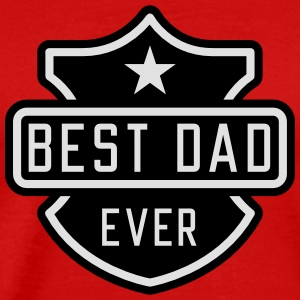 Best Dad ever Tanktoppar - Premium-T-shirt herr