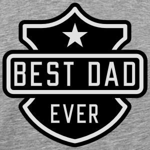 Best Dad ever Langærmede t-shirts - Herre premium T-shirt