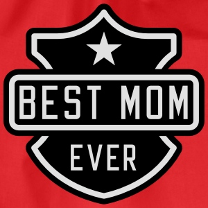 Best Mom ever Topper - Gymbag