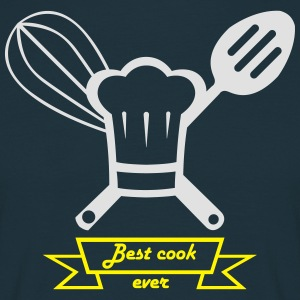 best cook ever blanc.ai Tabliers - T-shirt Homme