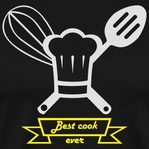 best cook ever blanc.ai Tabliers - T-shirt Premium Homme
