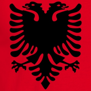 Albanian eagle Hoodies & Sweatshirts - Men's T-Shirt