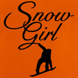 Snowgirl Classic Snowboard Shirts - Baby T-Shirt