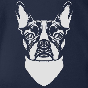 French Bulldog T-Shirts - Baby Bio-Kurzarm-Body