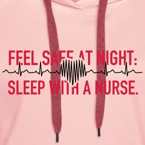 Sleep With A Nurse 2C T-Shirts - Frauen Premium Hoodie