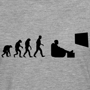 tv evolution T-Shirts - Männer Premium Langarmshirt