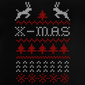 X-mas ugly sweater design for green Shirts - Baby T-Shirt