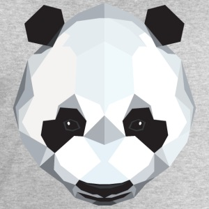 Panda Polygon Style Manches longues - Sweat-shirt Homme Stanley & Stella