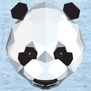 Panda Polygon Style T-Shirts - Women's Tank Top by Bella