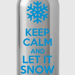 Keep Calm And Let It Snow Koszulki - Bidon
