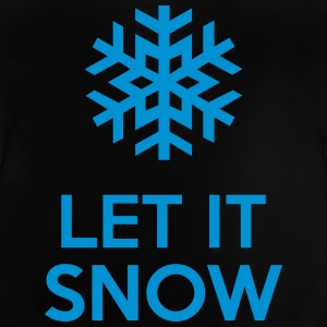 Let It Snow Skjorter - Baby-T-skjorte