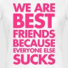 Best Friends T-shirts - Dame-T-shirt