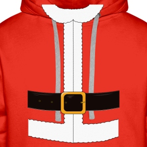 Funny Santa Claus / Christmas costume Long Sleeve Shirts - Men's Premium Hoodie