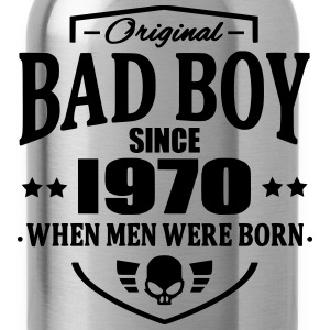 Bad Boy Since 1970 T-shirts - Drinkfles