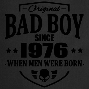 Bad Boy Since 1976 Camisetas - Delantal de cocina