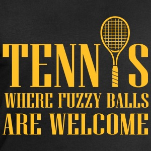 Tennis - where fuzzy balls are welcome T-skjorter - Sweatshirts for menn fra Stanley & Stella