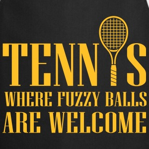 Tennis - where fuzzy balls are welcome Tops - Keukenschort