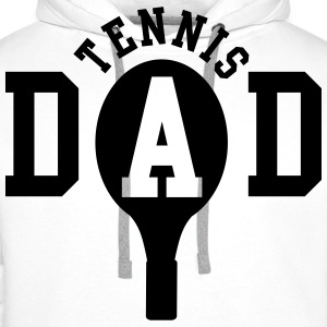 Tennis Dad Polo skjorter - Premium hettegenser for menn