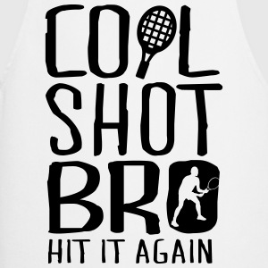 Tennis - cool shot bro, hit it again Magliette - Grembiule da cucina