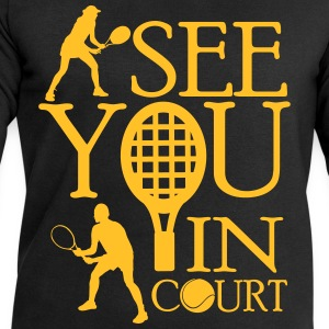 Tennis  - I see you in court T-skjorter - Sweatshirts for menn fra Stanley & Stella