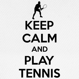 Keep calm and play Tennis T-shirts - Baseballcap