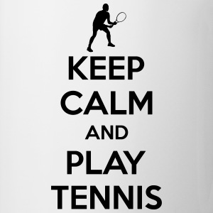 Keep calm and play Tennis T-shirts - Mok