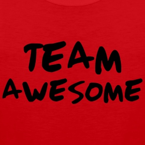 Team Awesome T-Shirts - Men's Premium Tank Top
