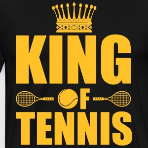 King of tennis Sweaters - Mannen Premium T-shirt