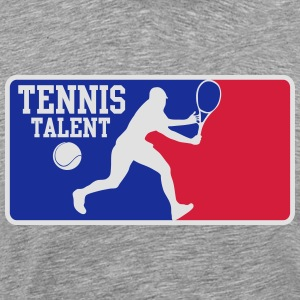Tennis talent Langarmshirts - Männer Premium T-Shirt