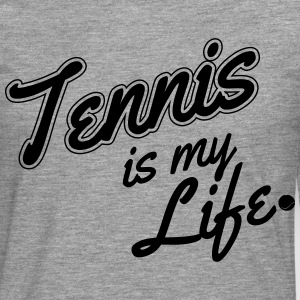 Tennis is my life T-shirts - Långärmad premium-T-shirt herr